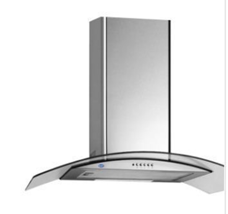 Curved wall mounted Kitchen Hood